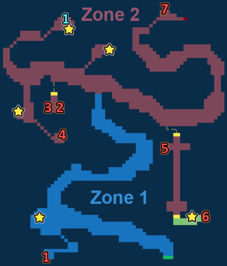 Encounter Map of Windy Heights West
