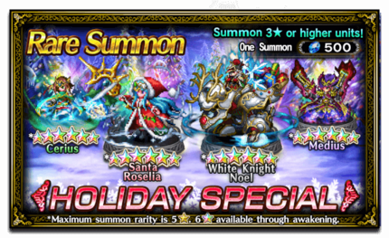 Featured Summon for Holiday Special!