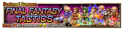 Featured Summon for Final Fantasy Tactics