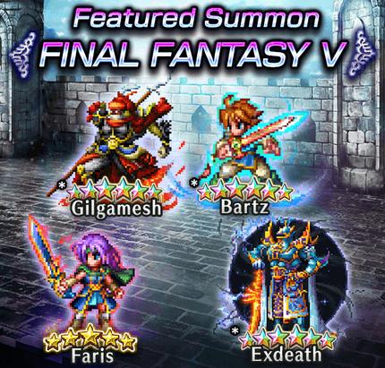 Featured Summon Final Fantasy V