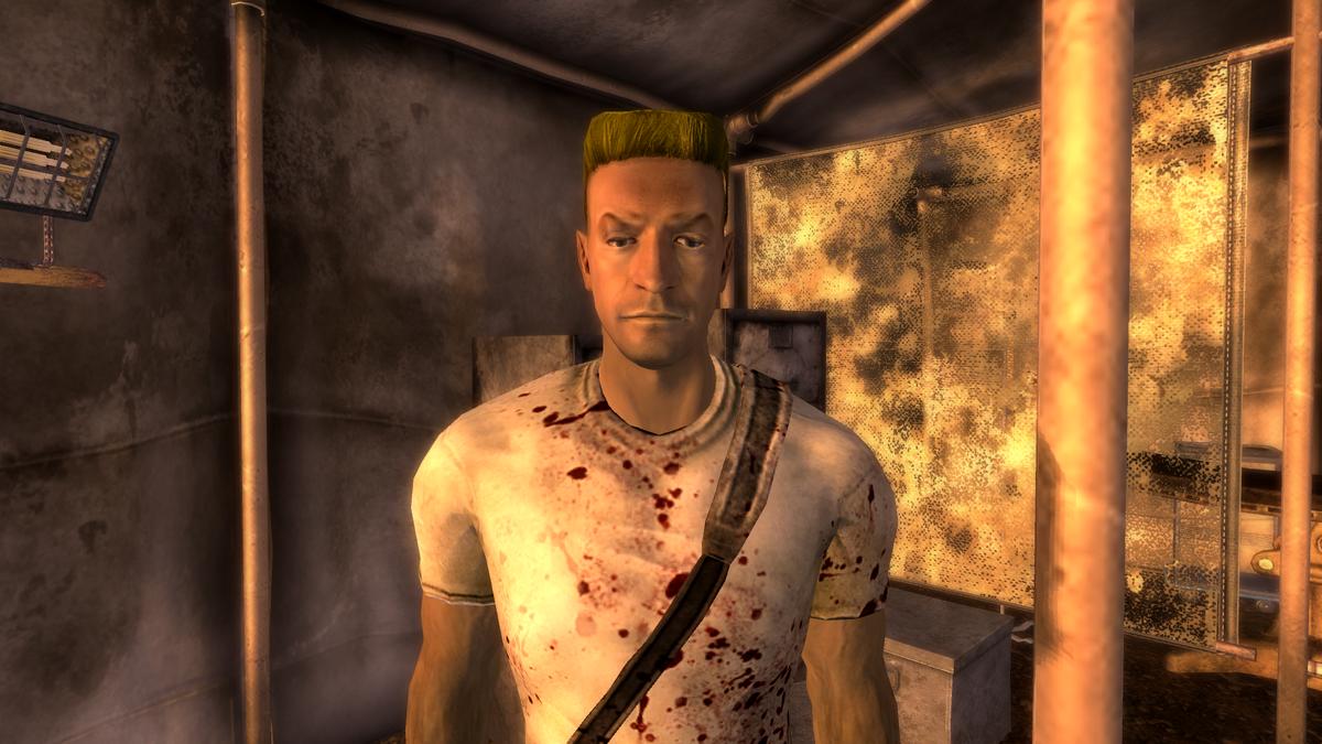 Fallout  Liam S Glasses And Ballistic Weave