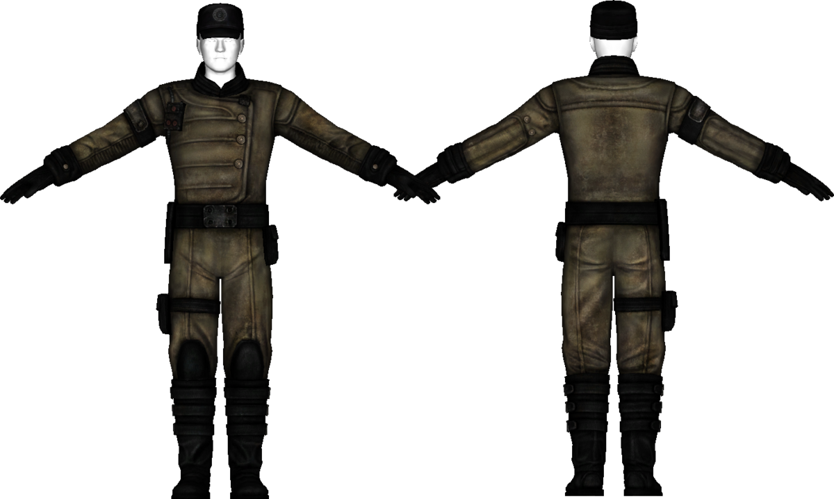enclave officer uniform - the vault fallout wiki