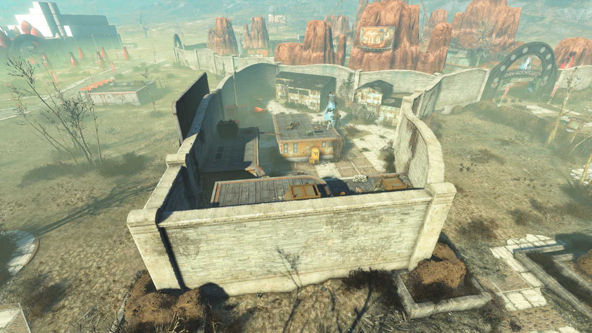 Dry Rock Gulch Employee Area The Vault Fallout Wiki