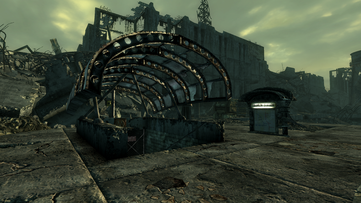 Franklin Station The Vault Fallout Wiki Fallout 4