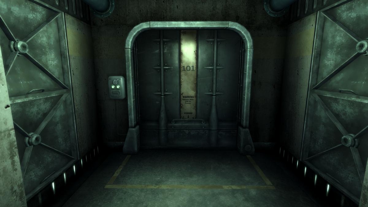 Vault Door The Vault Fallout Wiki Fallout 4 Fallout