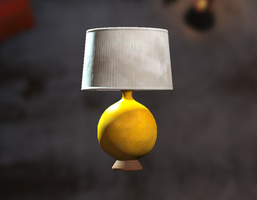 Yellow table lamp - The Vault Fallout wiki - Fallout 4, Fallout ...