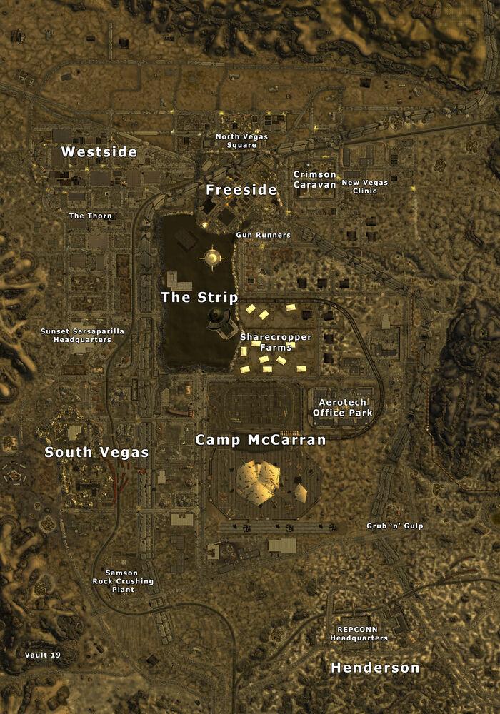New Vegas Gomorrah Room