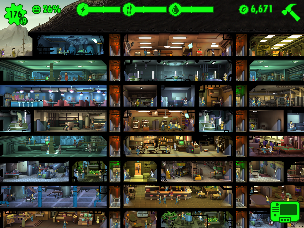 Fallout Shelter Can Craft More Than One Weapon At Time
