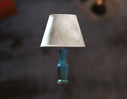 Blue table lamp - The Vault Fallout wiki - Fallout 4, Fallout: New ...