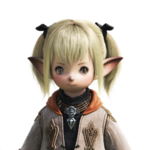 """Female Lalafell Face"""