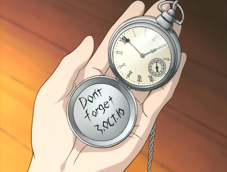 Resuscitated Hope: Fullmetal Alchemist Pocketwatch