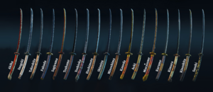 Every Kensei Weapon Set