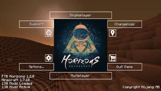 Ftb Horizons  Can T Craft Upgrade Base