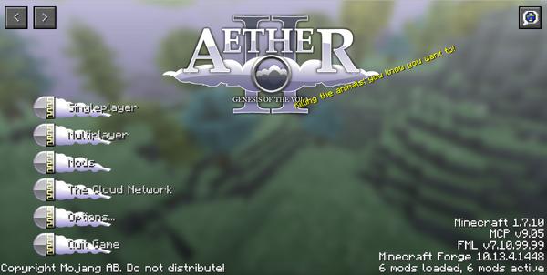 Aether II Menu.png
