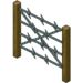 Decoration Barbed Wire Fence.png