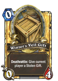 Winter's Veil Gift - Hearthstone Wiki