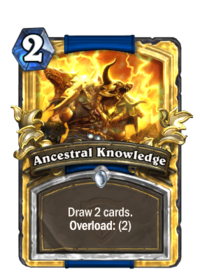 Ancestral Knowledge(22319) Gold.png