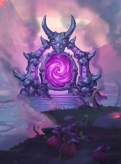 nether portal  minion