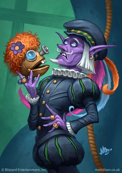 Pompous Thespian Hearthstone Heroes Of Warcraft Wiki