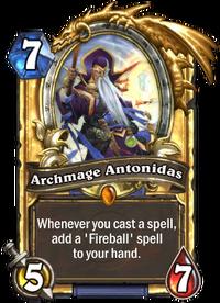 Archmage Antonidas(220) Gold.png