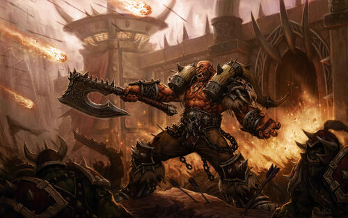 garrosh hellscream hearthstone wiki. Black Bedroom Furniture Sets. Home Design Ideas