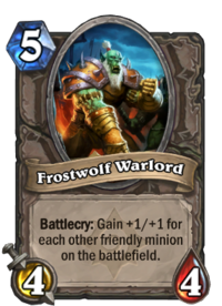 Image result for frostwolf warlord