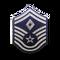 Senior Master Sergeant (Diamond denotes First Sergeant)
