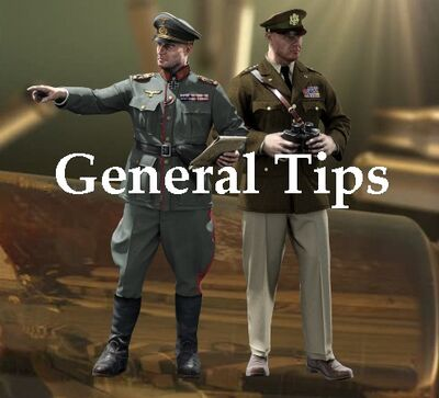 General tips for playing the game!
