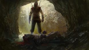 Geralt tötet die Striege