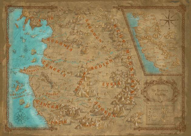 Witcher Weltkarte