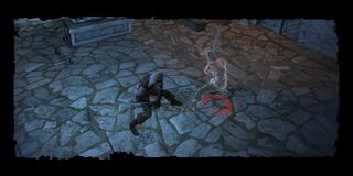 Geralt bekämpft Leos Geist