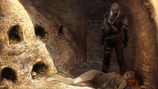 Cutscene Geralt rettet Adda