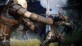 Tw3 e3 2014 screenshot - Geralt battling a general of the Hunt2.jpg
