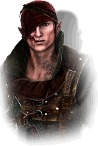Iorveth in The Witcher 2
