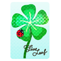 Decal-Five-leaf Clover P.png