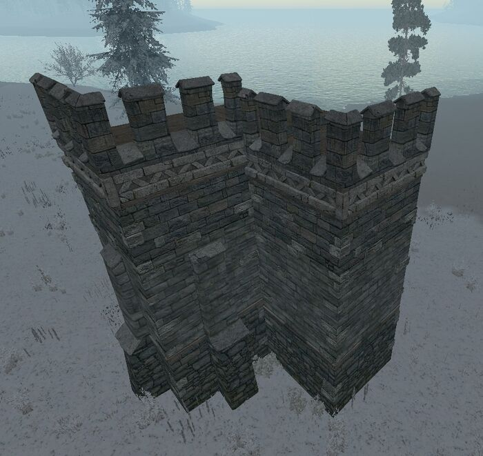 Castle Wall Corner Official Life Is Feudal Wiki