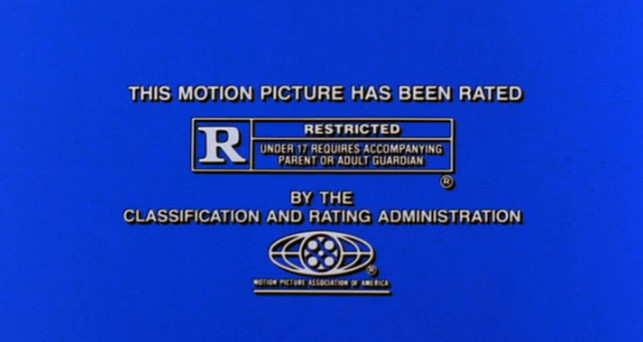 MPAA R Rating Screen (1998)