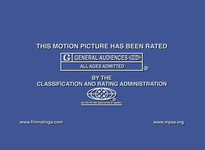 MPAA G Rating Screen (2008)
