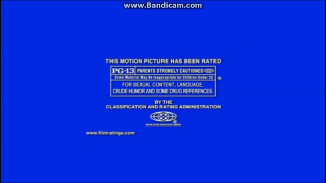 MPAA PG-13 Rating (Along Came Polly variant)