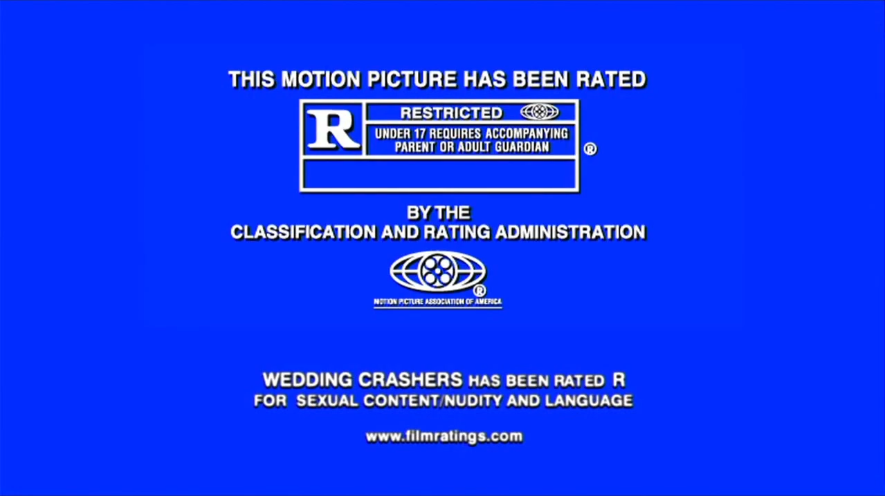 MPAA R Rating (Wedding Crashers variant)