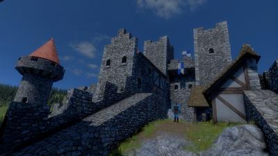Medieval Engineers Building Floor