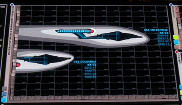 Image of the NX-01s warpfield