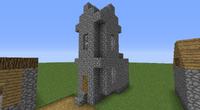 Minecraft Dorf Kirche