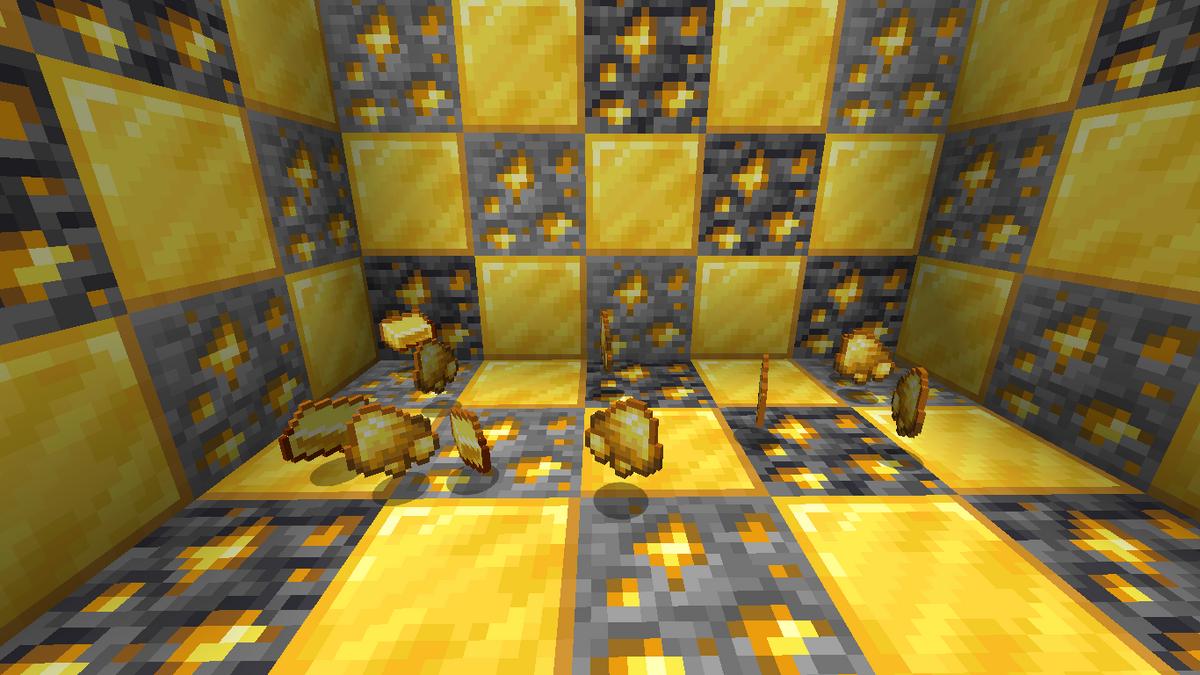 Minecraft wiki gold bar