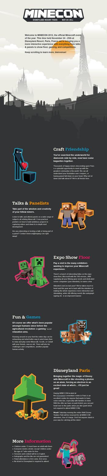 Infos zur MineCon 2012