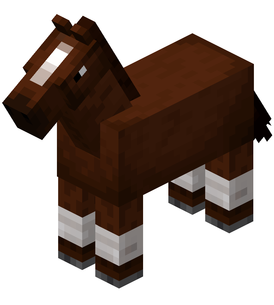 Brown Horse with White Stockings.png