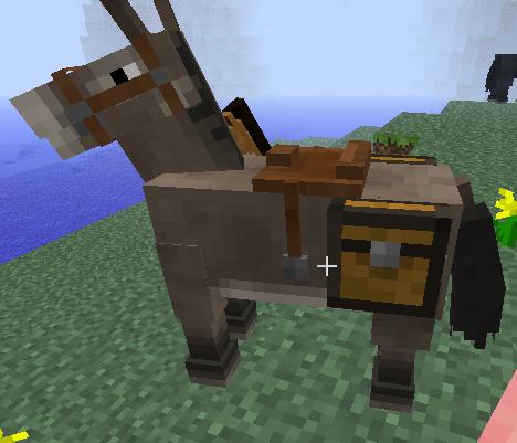 как найти седло на лошадь в майнкрафте креатив #1