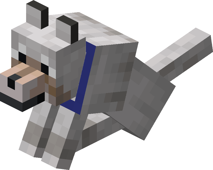 Sitting Tamed Wolf with Blue Collar.png