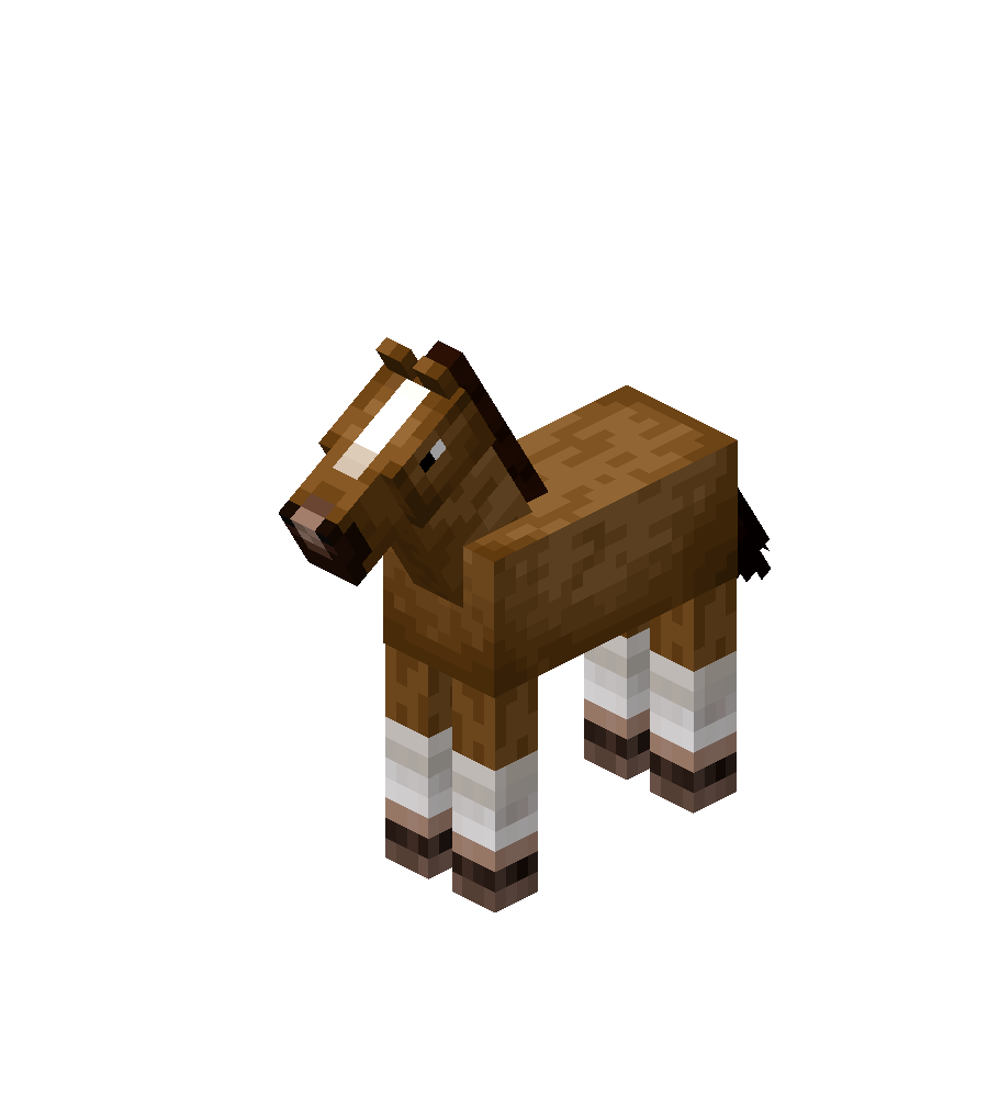 Baby Creamy Horse with White Stockings.png