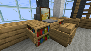 TutorialsFurniture Official Minecraft Wiki - Cool minecraft furniture ideas